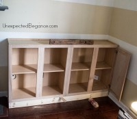 Diy Built In Cabinets Tv, Cheap White 5 Drawer Dresser