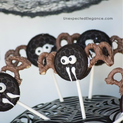 Bat Cookie Pops