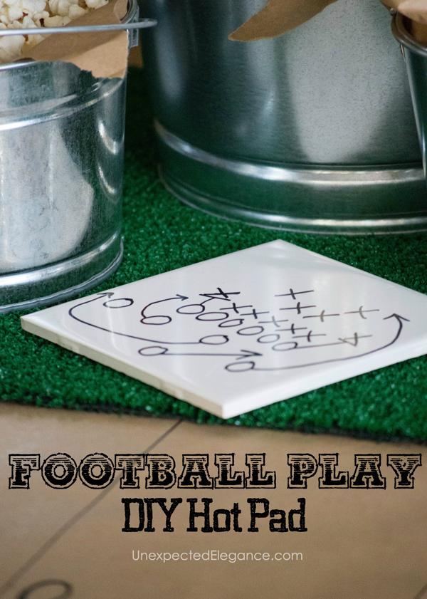 Super Bowl Party DIY Ideas