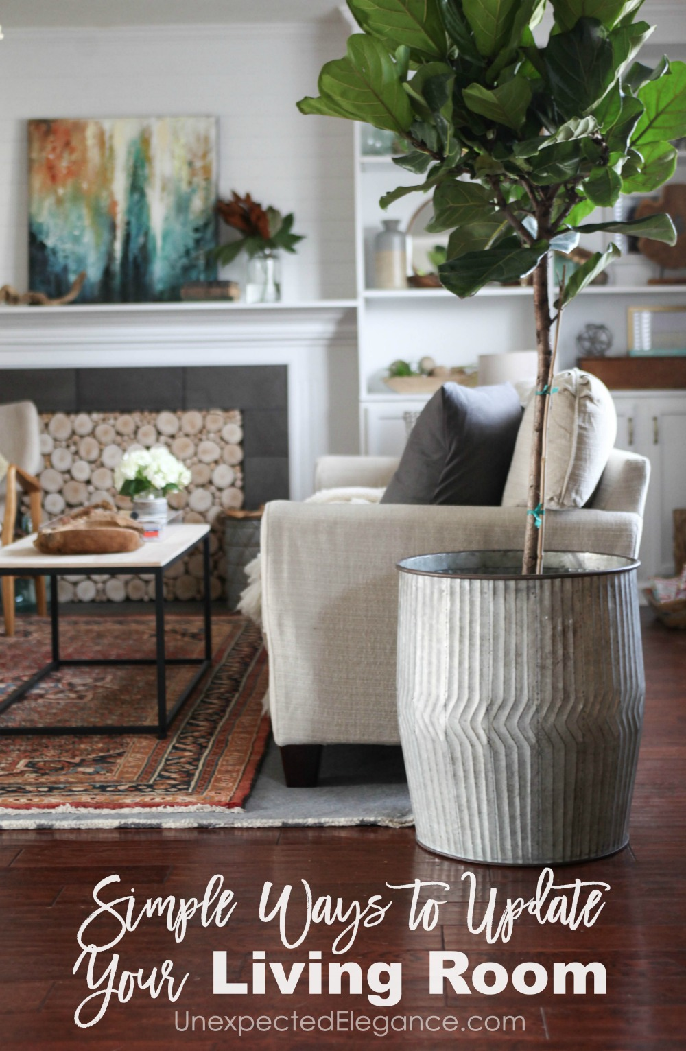 ways to update your living room without spending a lot of money