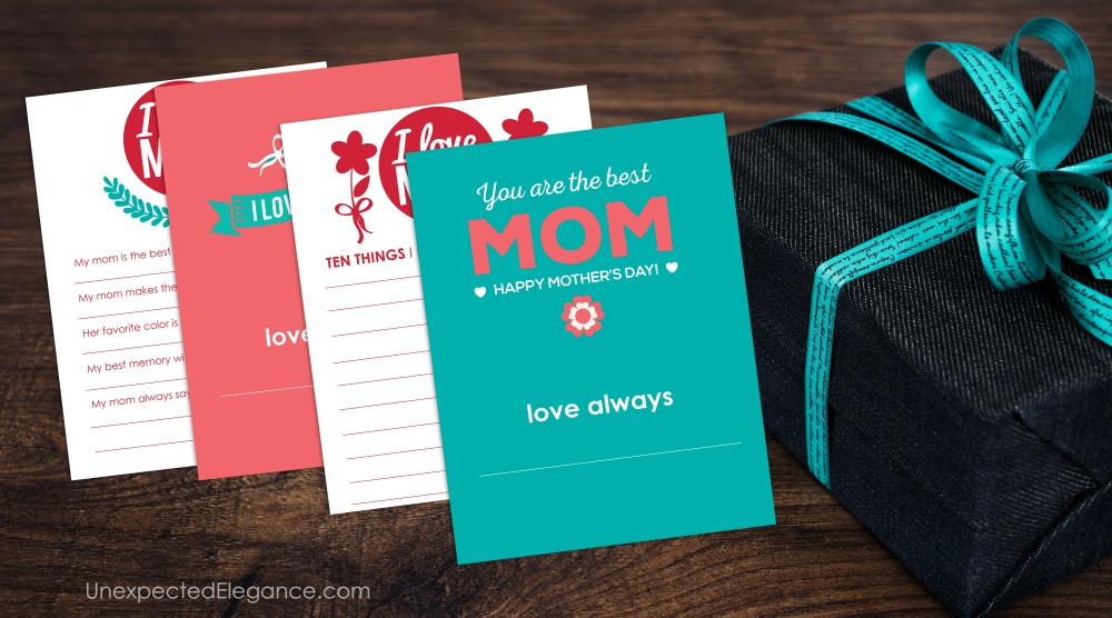 Mother's Day Gift Printable
