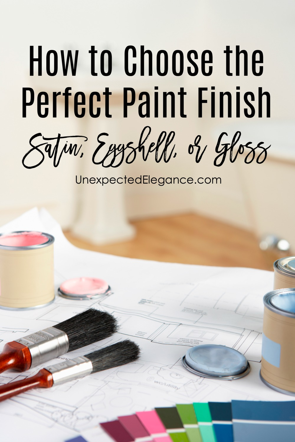 Do you have a room or piece of furniture you need to paint, but keep putting it off because you aren't sure which finish to use? See How to choose the perfect paint finish HERE!