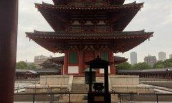 A photo of the Shitennōji Temple - Osaka, Japan