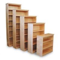 Unfinished Bookcases - Unfinished Oak Bookcases