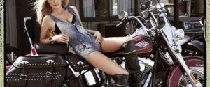 Harley Davidson Plus Marisa Miller = Perfect Advertisement