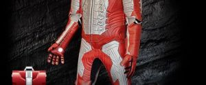 Iron Man Motorcycle Leather Suit