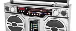 Boombox MP3 Portable Digital Music Player