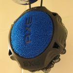 The Axe Detailer Shower Tool, Scrubber Close Shot Blue