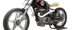Much Much Go Custom Motorcycle – Based on a 1979 Honda CB250T
