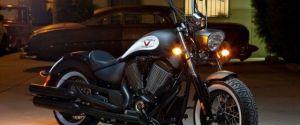 Flat Black Victory Motorcycles High-Ball