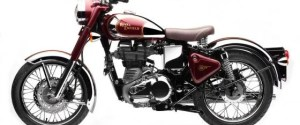 Retro Motorcycle:  Royal Enfield Classic 500