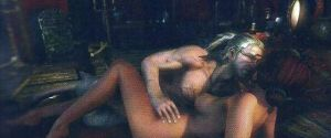 "The Witcher 2 – Polish Magazine ""Love"" Scene"