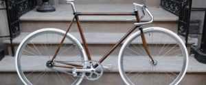Rob Pollock Bikes – Woodgrain Paint Finish