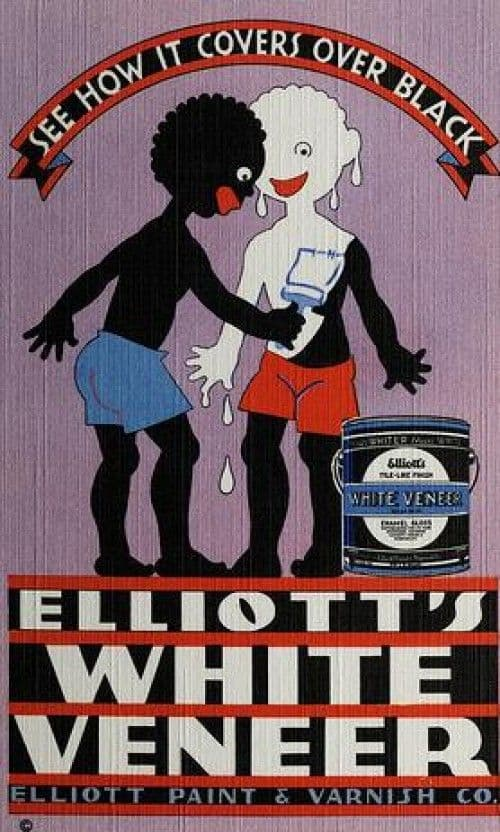 Racist Elliott's White Veneer Ad