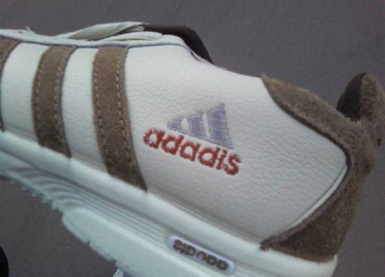 Chinese copy cat shoe of Adidas