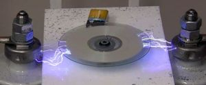 Erasing a CD With Electricity – Danger! High Voltage