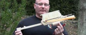 The 'Nerd Revenge 2000′ Pump Action Pencil Launcher