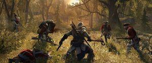 Assassin's Creed 3 Screenshots – Connor Kicking Ass