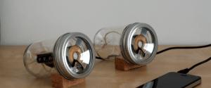 The Customized Man- Handmade Jar Speakers
