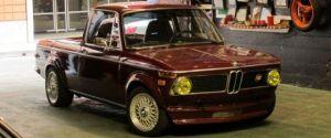 BMW 1600-2 Converted Into an El Camino Truck