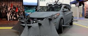Hyundai Is Prepared With The 'Elantra Zombie Survival Machine'