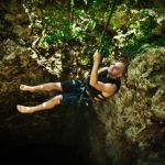 Rappeling Cenote