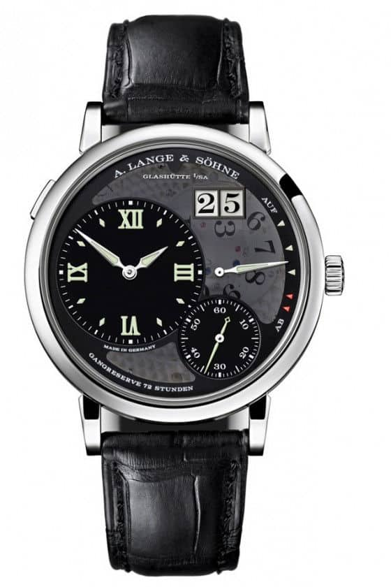 A. Lange Sohne Grand Lange 1 Lumen watch