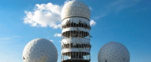 Cold War Listening Tower at Teufelsberg in Berlin