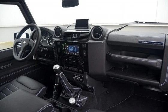 Startech Land Rover Defender Series 3.1 interior
