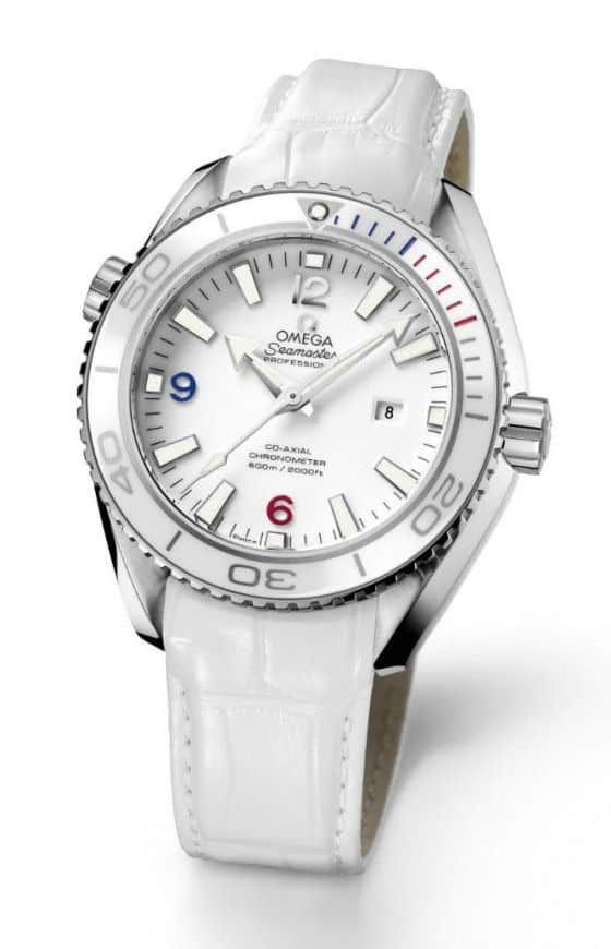 Ladies Omega Planet Ocean Sochi 2014 watch