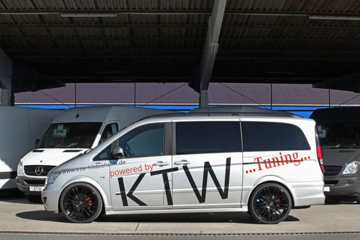 Mercedes Viano Van by KTW