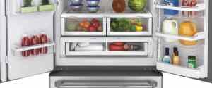 GE Cafe Refrigerator With Hot Water Dispenser