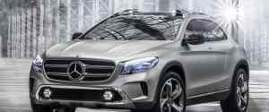 Mercedes-Benz GLA Crossover Concept
