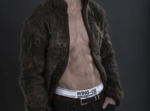 fur coat from chest hair