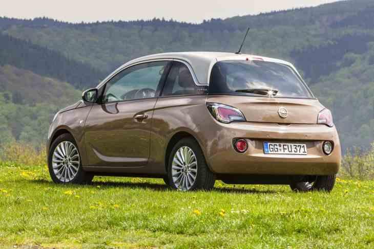 new Vauxhall Adam LPG