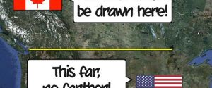 The Canada/United States Border – Bizarre Borders of The World