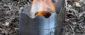 Vertex Ultralight Backpacking Stove: For The Minimilist Backpackers