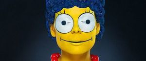 'Flower Marge' – Real Life Marge Simpson