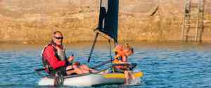 Tiwal 3.2 – Inflatable Sailing Dinghy