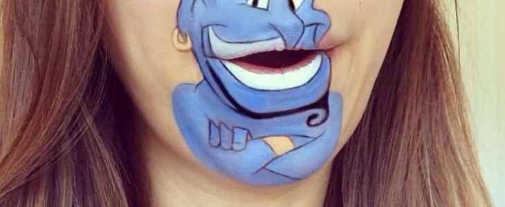 Genie lip art