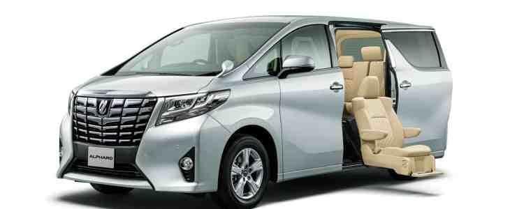 Alphard minivan