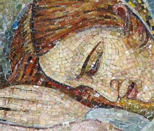 mosaic-of-woman