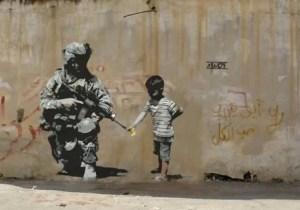 banksy peacemaker