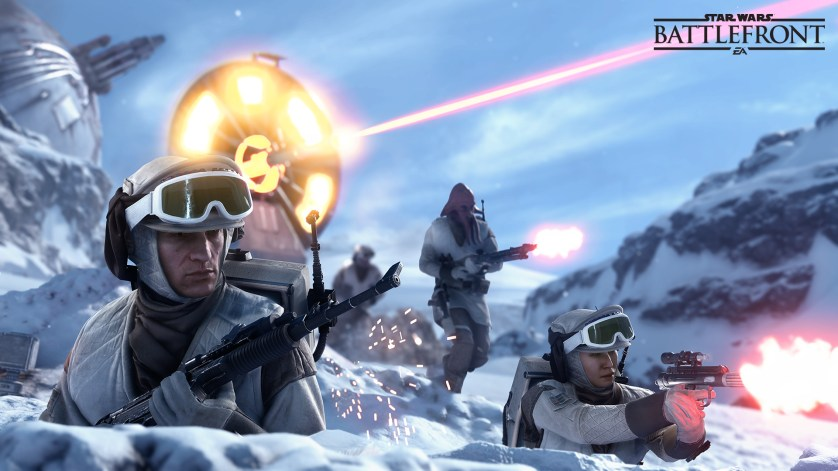 Get right into the heat of the battles of STAR WARS
