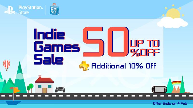 PS Indie sale