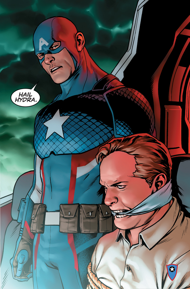 Steve Rogers is back as Captain America... HAIL HYDRA?