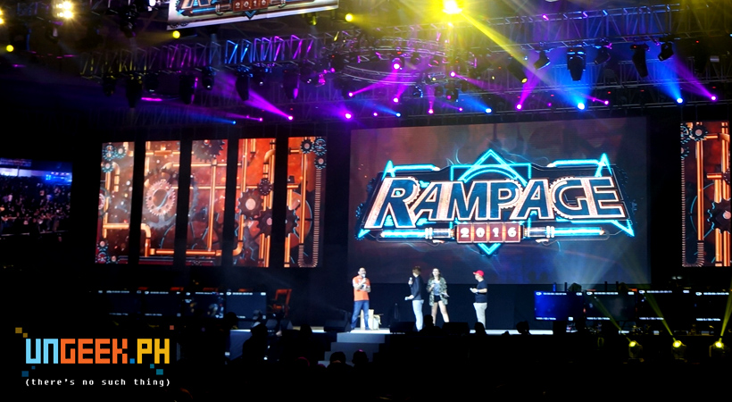 Rampage 2016 is an ACE!