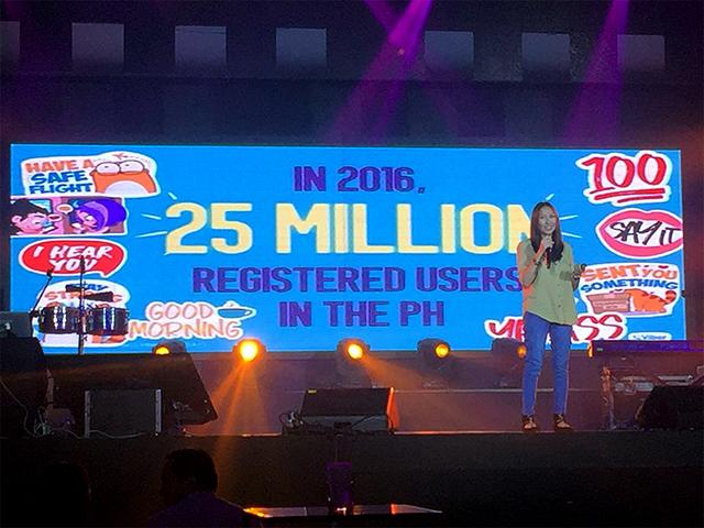 Viber 2016 - 25Million Registered Users