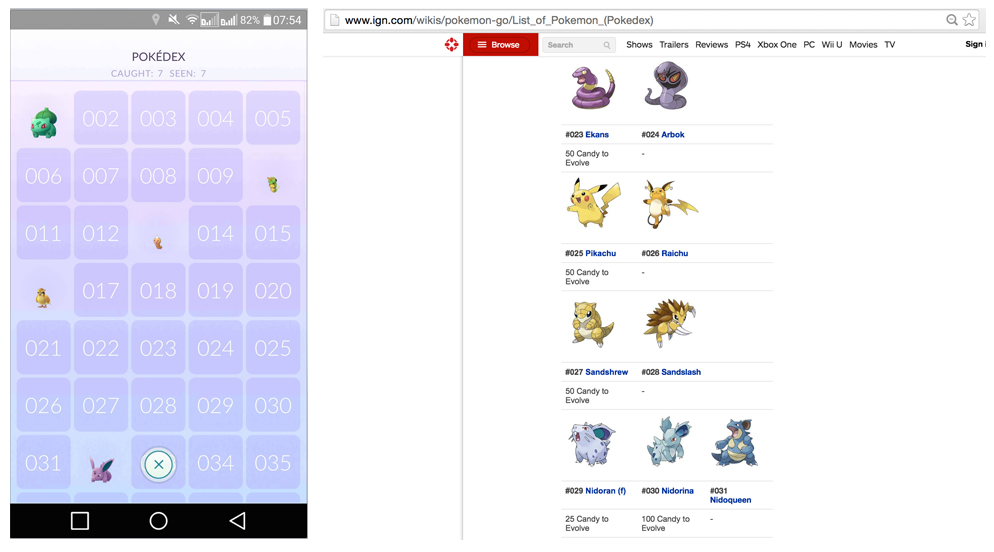 Pokémon GO Tools to help you get your next Catch or Evolution Ungeek