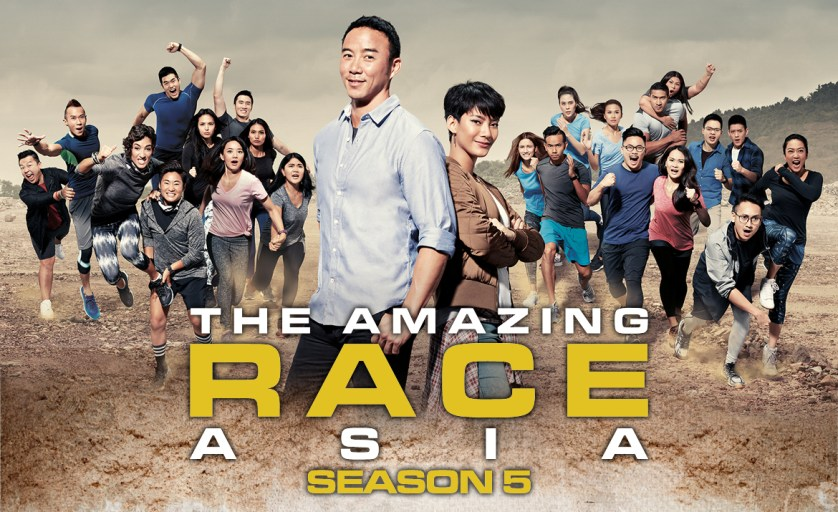 Are you ready for the race of a lifetime? The Amazing Race Asia Season 5 premieres October 13! (Image courtesy of axn-asia.com)